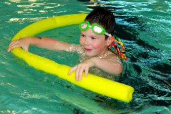 Where can you go swimming indoors in Louisville?