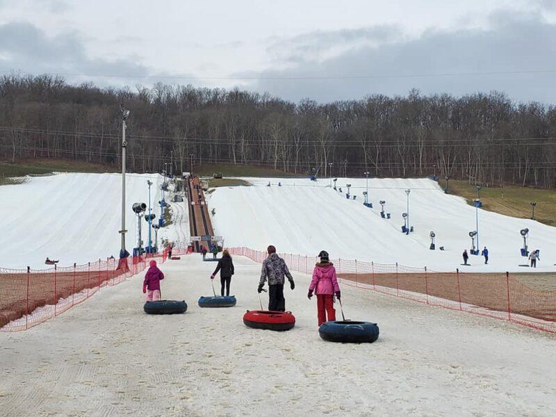 skiing near Louisville
