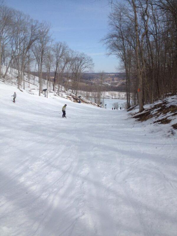 skiiing near Louisville