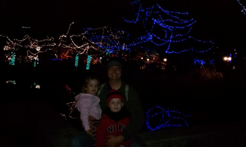 Christmas at the Indianapolis Zoo
