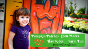 Where can you go for Pumpkin Patches, Corn Mazes, Hayrides and Fall Farm Fun around Louisville ?