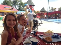 Review of Dining Options at Holiday World in Santa Claus, Indiana