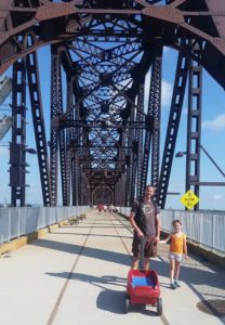 Family Day Out by the Ohio River
