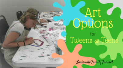 Art Classes/Options for Tweens/Teens in and around Louisville, KY
