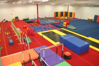 indoor fun in Louisville open gym