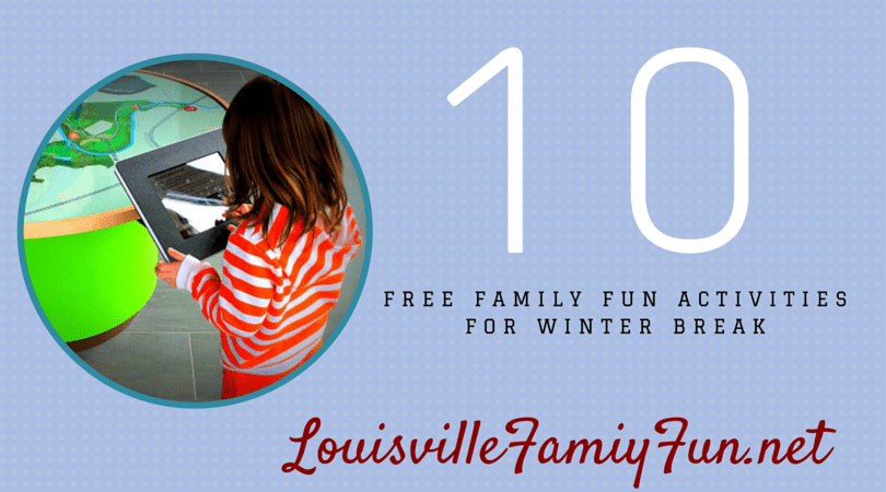 Free events Winter Break Louisville