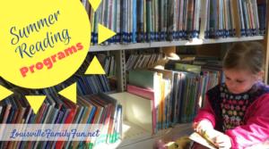 Summer Reading Programs around Louisville, KY