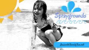 Spraygrounds and Splash Areas in and around Louisville