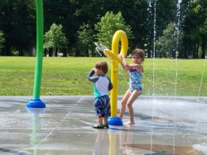 Review of the Sprayground at Robsion Park in Louisville, KY