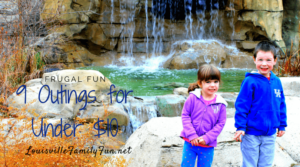 Frugal Family Fun - 9 outings that cost under $10
