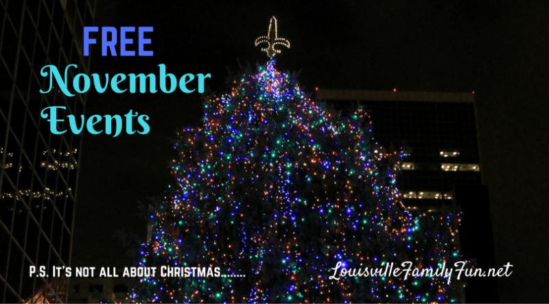 Free November Events
