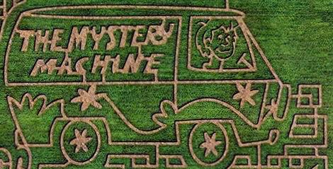 corn maze near Louisville
