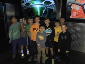 Laser tag birthday party