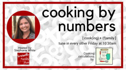 Cooking by Numbers