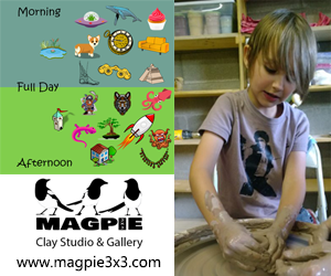 Magpie3x3 Clay Studio & Gallery Camp