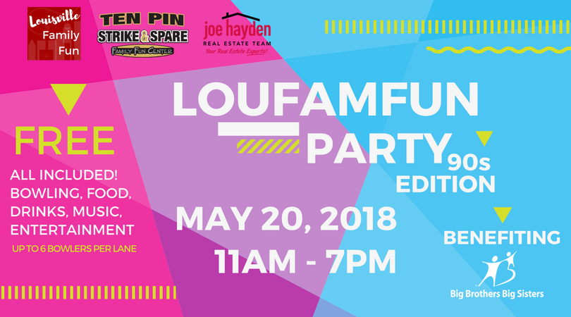 Each Year We Raise Money For Big Brothers Sisters Of Kentuckiana At Our LouFamFun Birthday Party