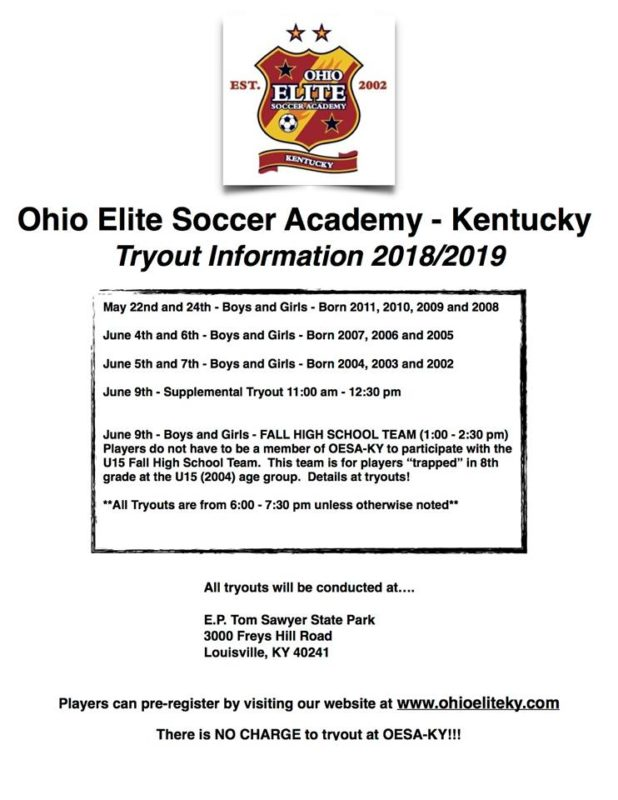 youth club soccer louisville