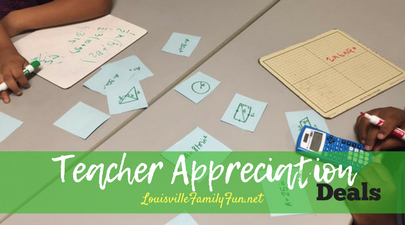 Teacher Appreciation deals Louisville