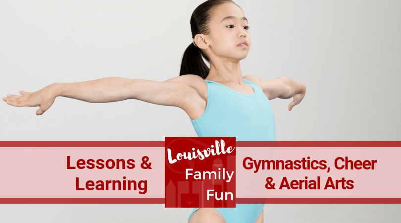 Gymnastics cheer tumbling aerial arts Louisville