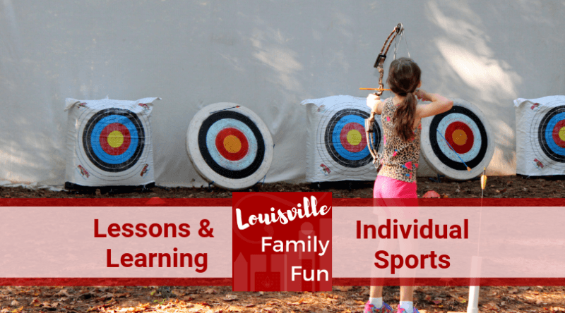 archery tennis skating golf lessons classes Louisville