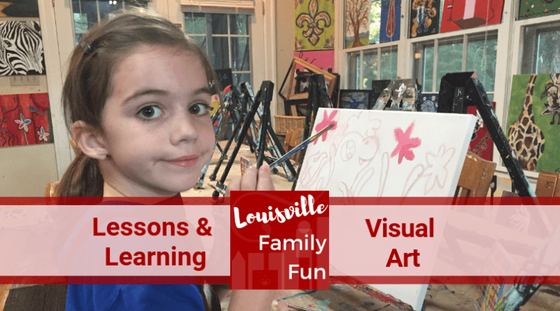 Drawing painting pottery visual art classes Louisville