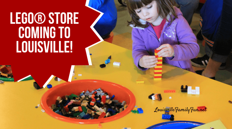 LEGO Store Louisville Kentucky