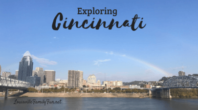 three day weekend in Cincinnati, OH with kids