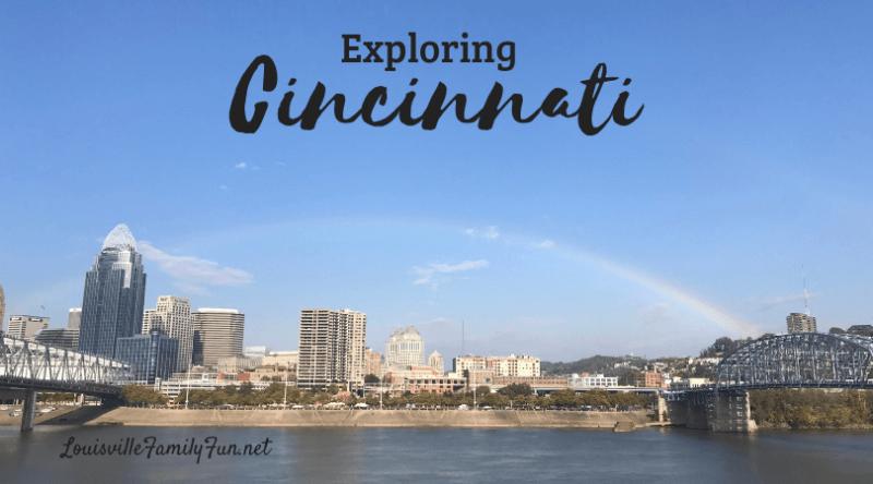 three day weekend in Cincinnati