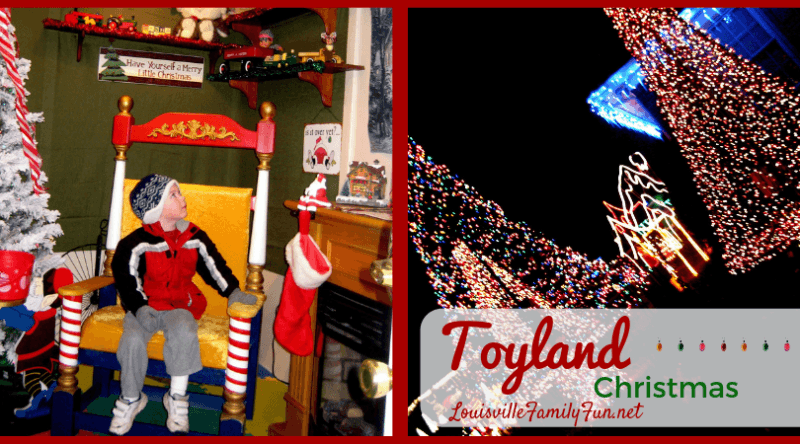 Toyland best christmas lights Louisville