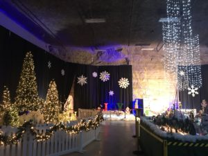 Christmas Express at Louisville Mega Cavern