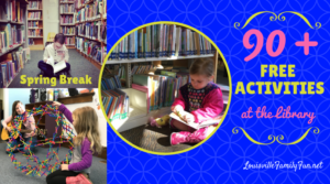 90 free spring break activities at the library