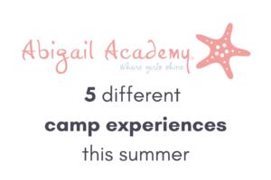 Abigail Academy Summer Camp