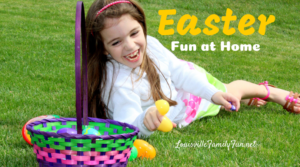Easter Fun at Home