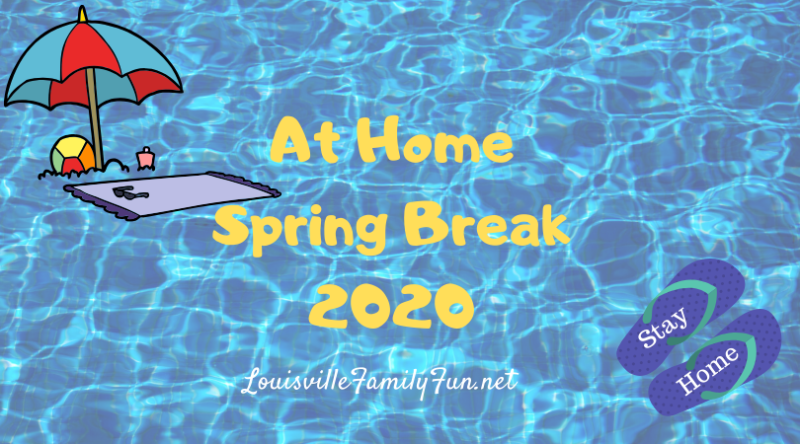At home spring break