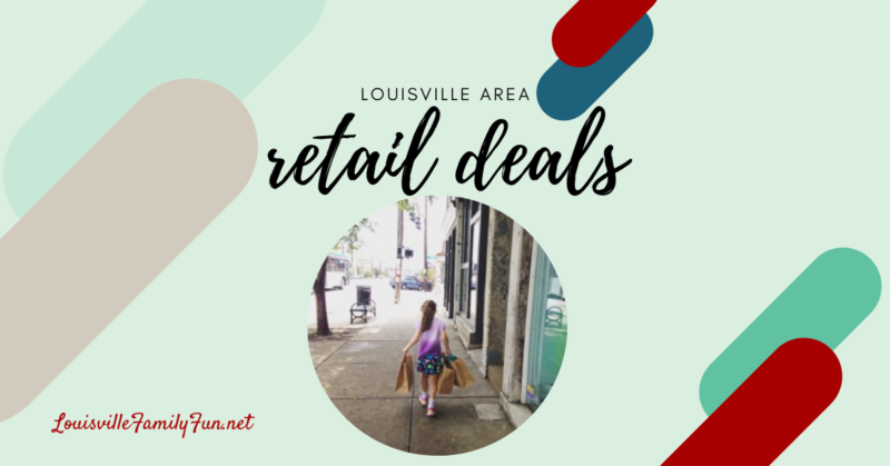 Louisville Are retail deals