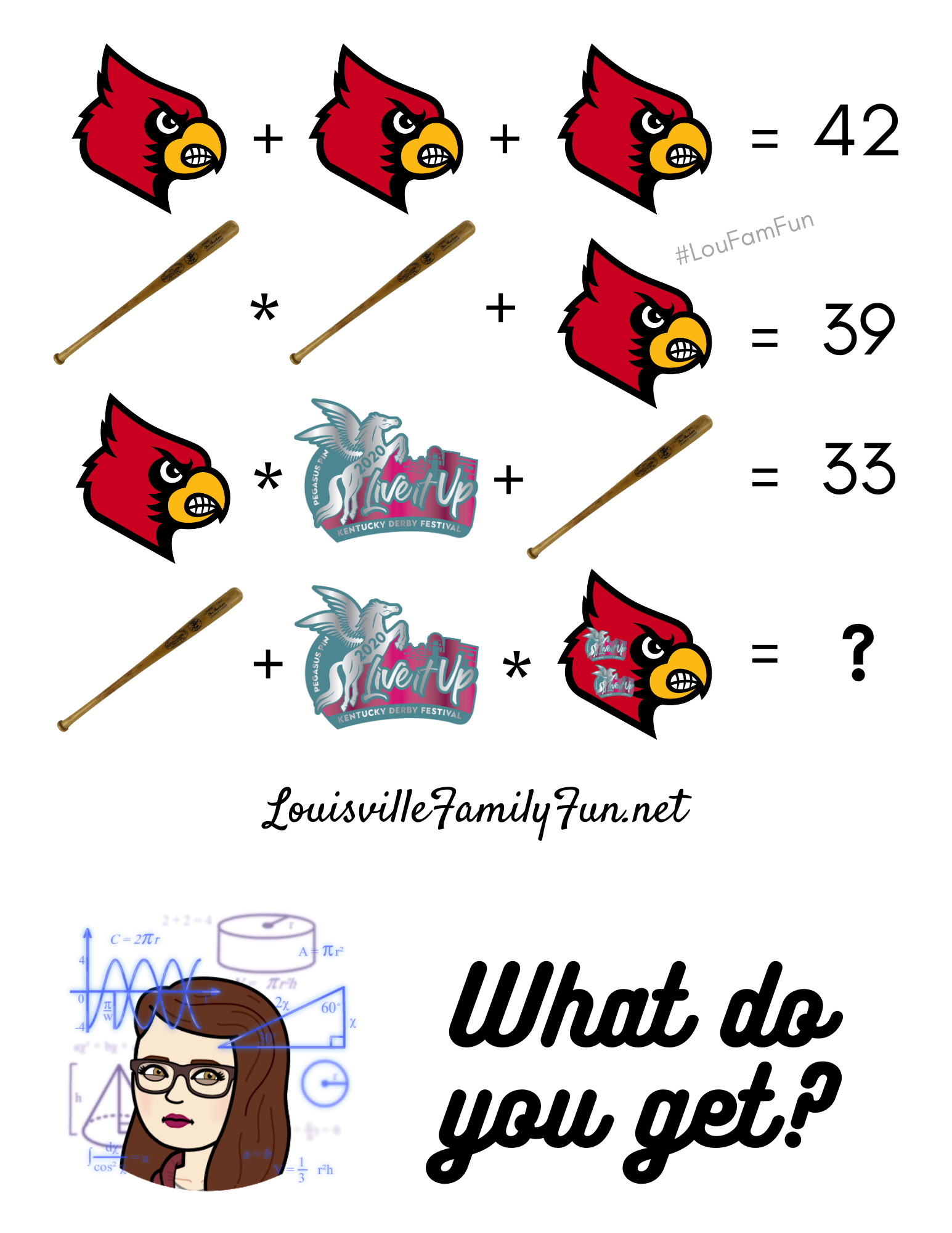 Louisville math puzzle