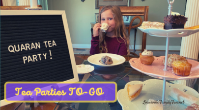 Tea parties to go