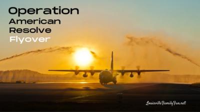air national guard flyover