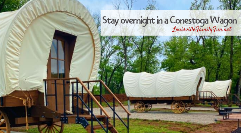 overnight stay in covered wagons