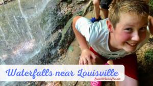 waterfalls around Louisville