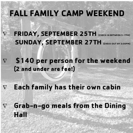 Piomingo family camp