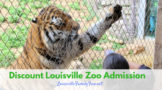 Louisville zoo discounts