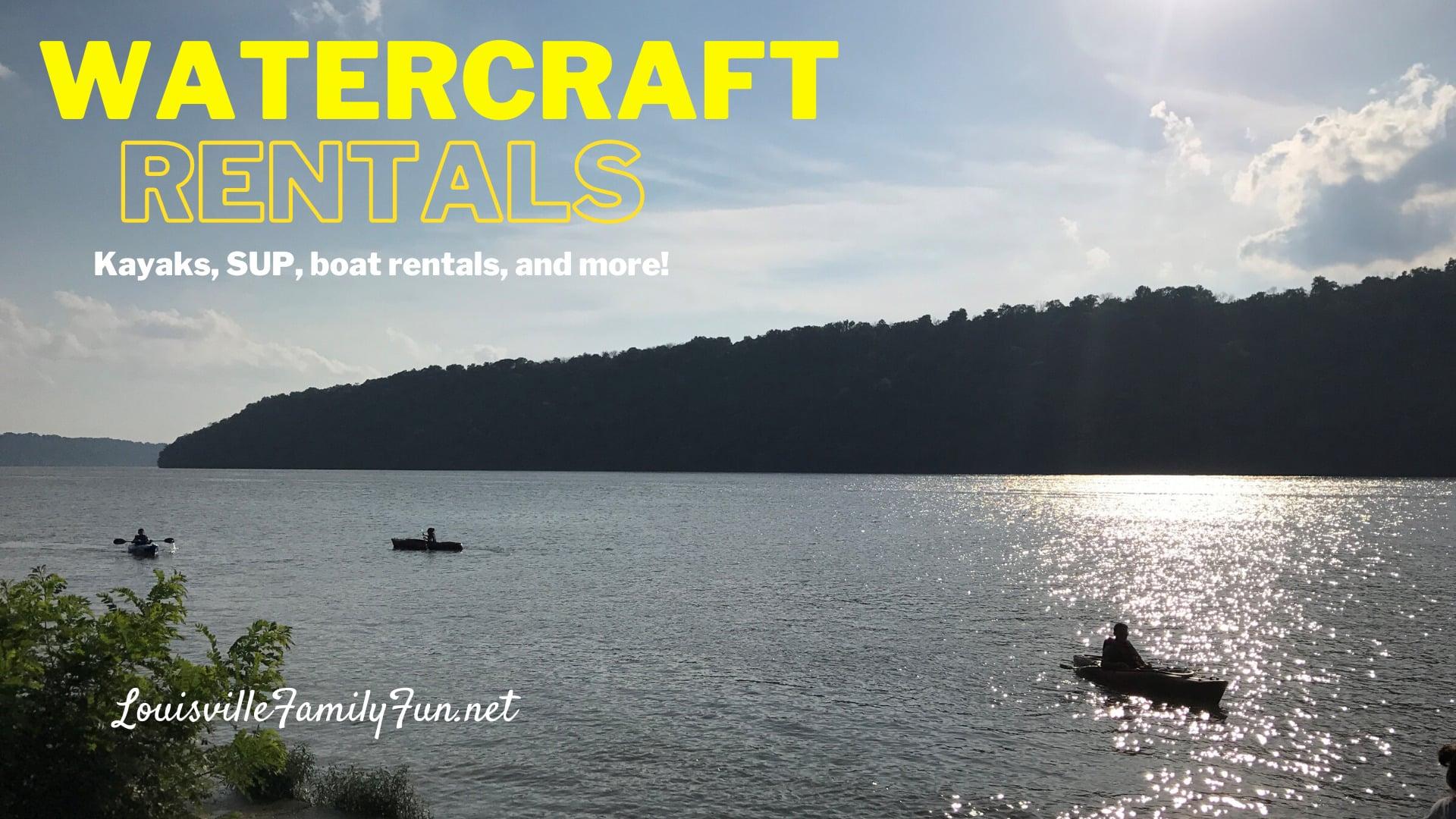 boat rentals near Louisville