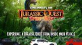 drive-thru dinosaur event in Cincinnati