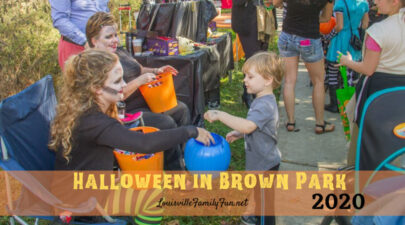 Halloween in Brown Park