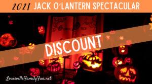 Louisville Jack O'Lantern Spectacular Discount