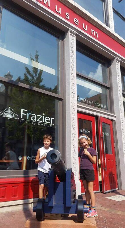 frazier museum free membership