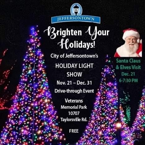 Louisville drive thru holiday event