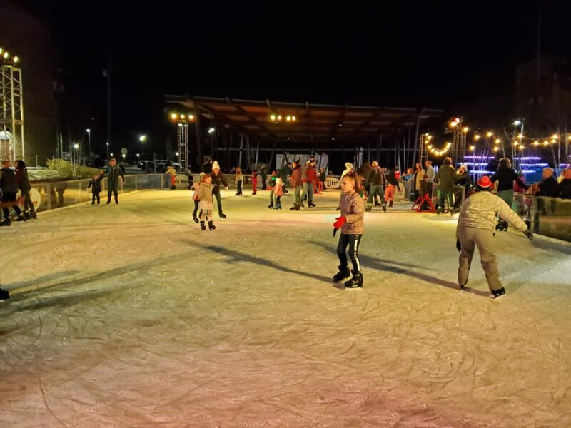 outdoor ice skating in Louisville