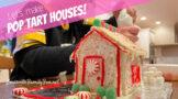 pop tart gingerbread houses